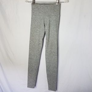 Old Navy Active Workout Leggings Heathered Gray XS